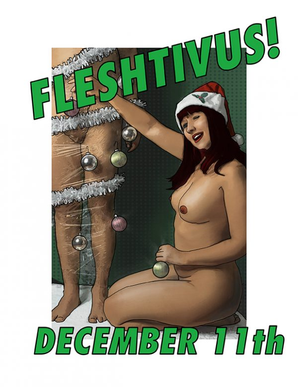 SEX+STL Fleshtivus Display Ad 800x1000